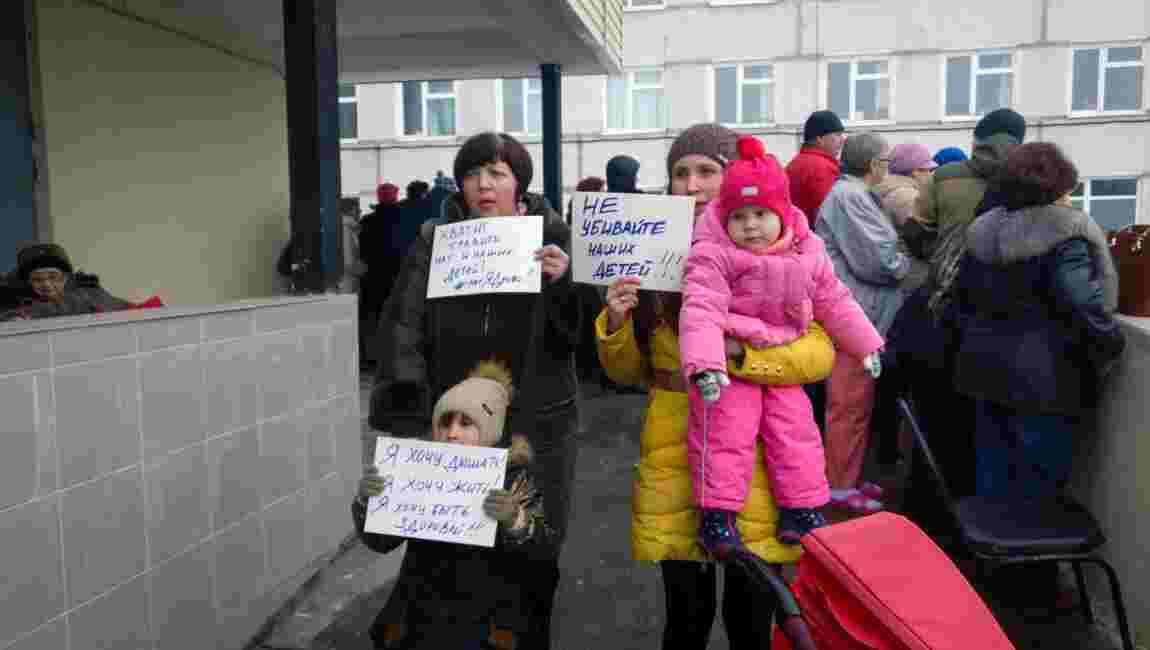 Russie: situation tendue autour d'une décharge de déchets polluants près de Moscou