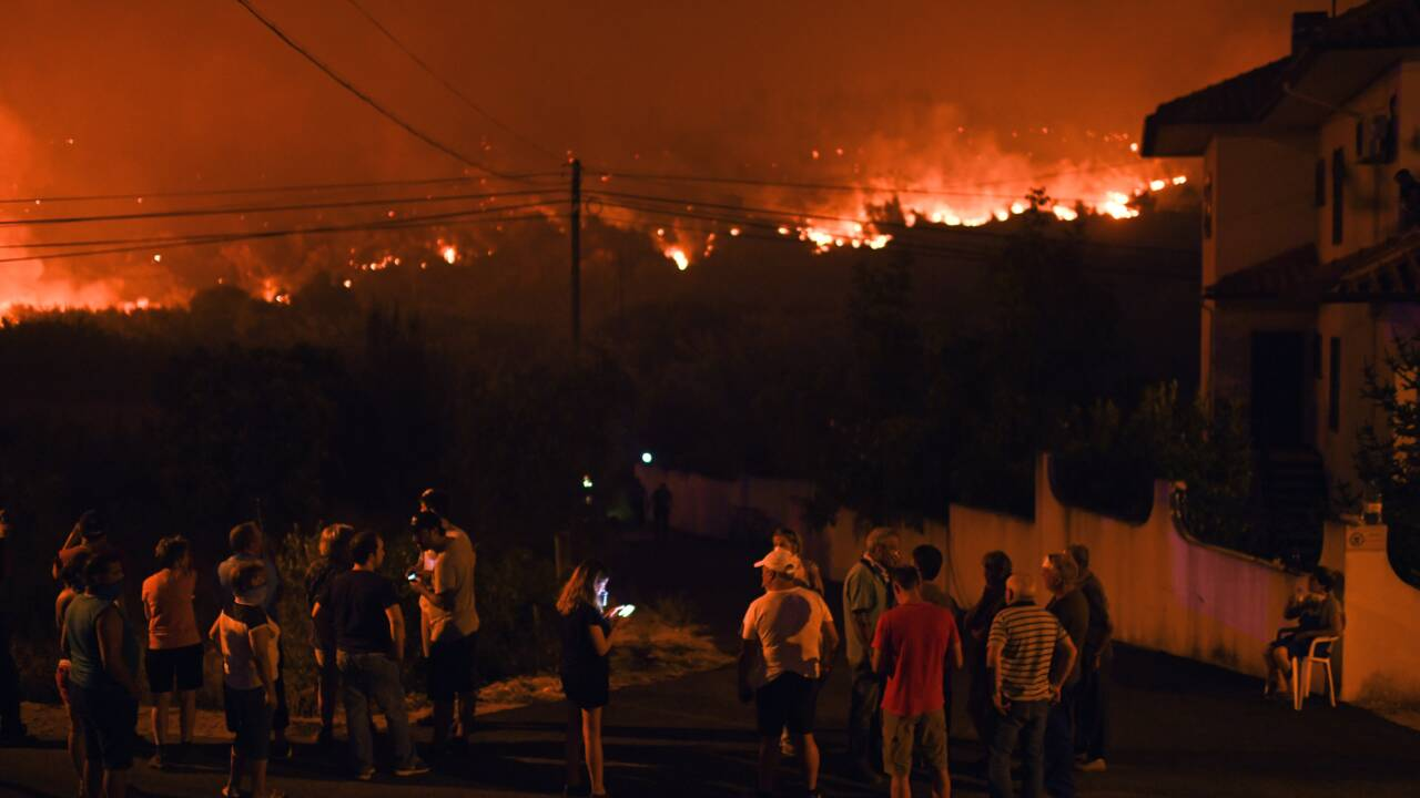 Portugal: les principaux incendies maîtrisés malgré la canicule