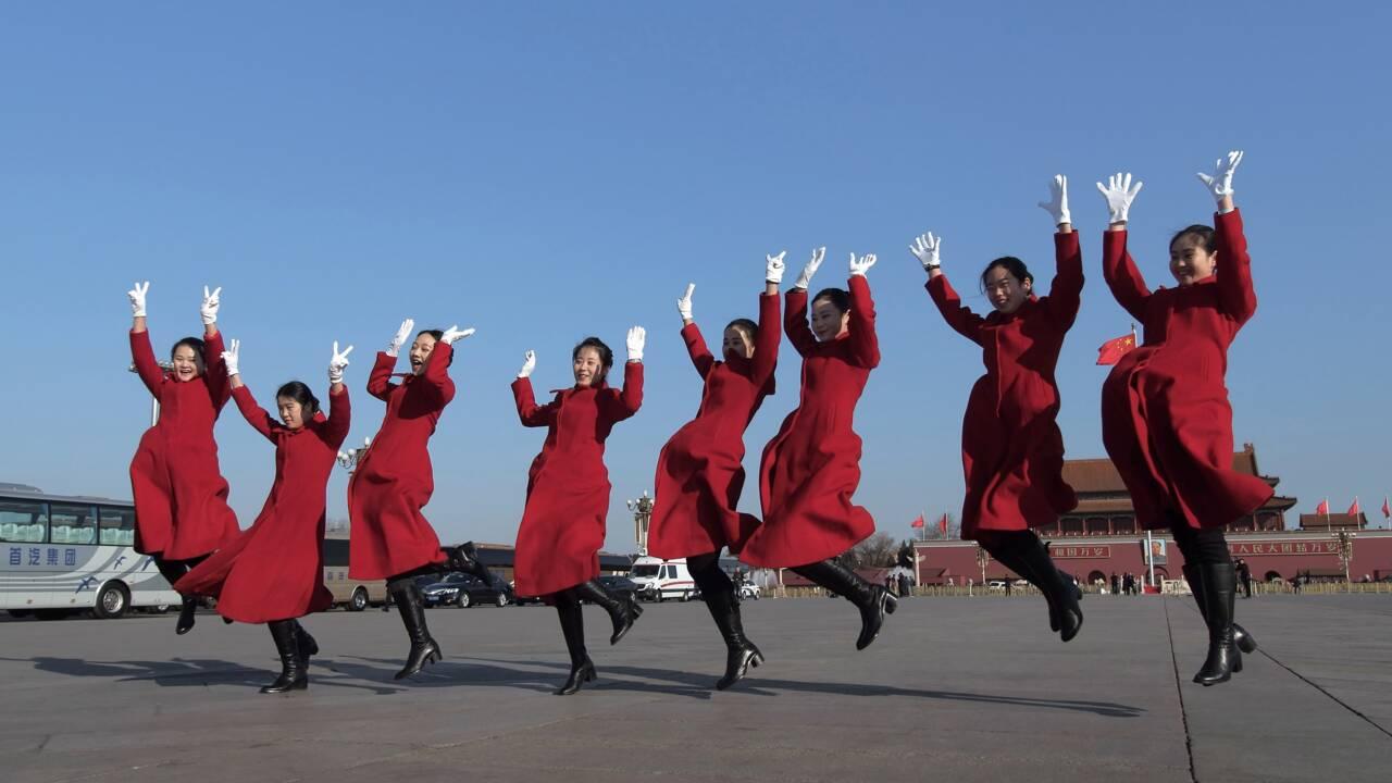 """Pékin promet de rendre un """"ciel bleu"""" aux Chinois"""