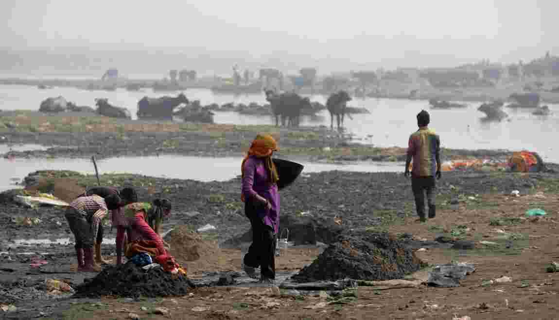 Dans le nord de l'Inde, la pollution étouffe aussi les petites villes