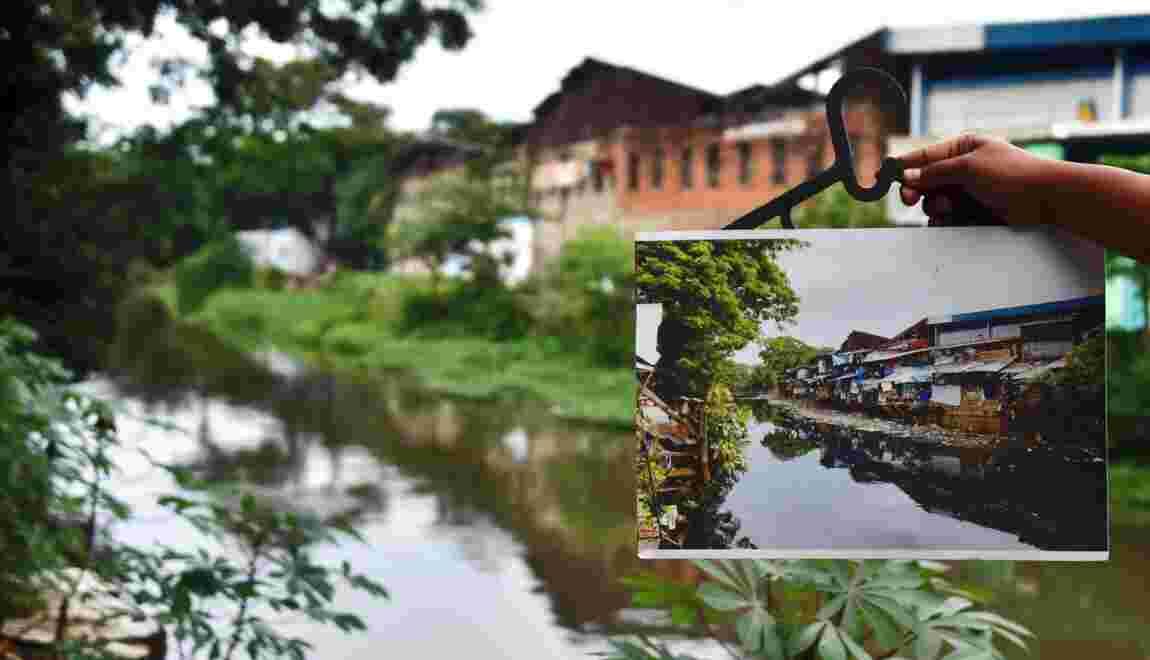 A Jakarta, les habitants d'un quartier pauvre devenus écolo pour éviter l'expulsion