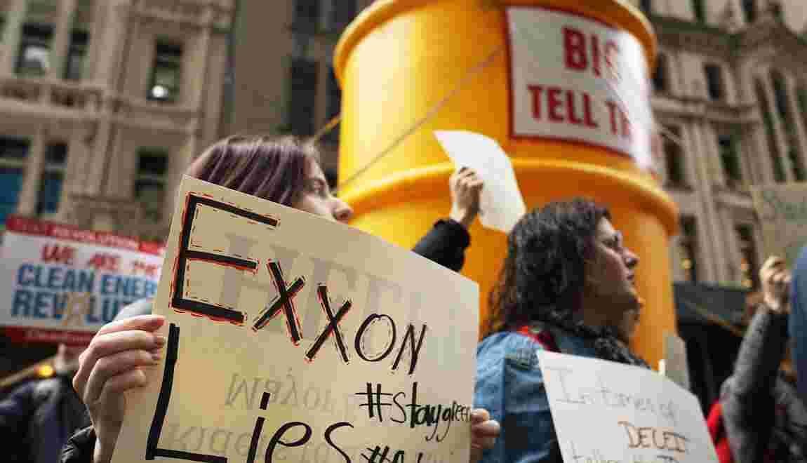 Une étude accuse ExxonMobil d'avoir entretenu le doute sur le changement climatique