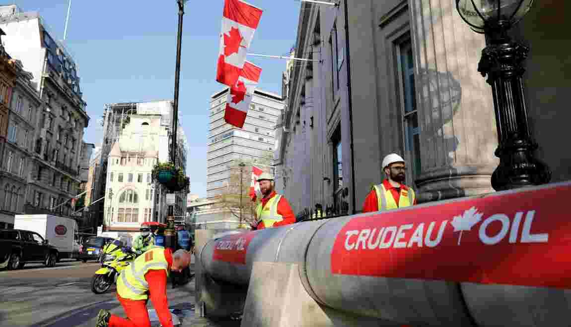 Oléoduc controversé: le gouvernement canadien veut passer en force