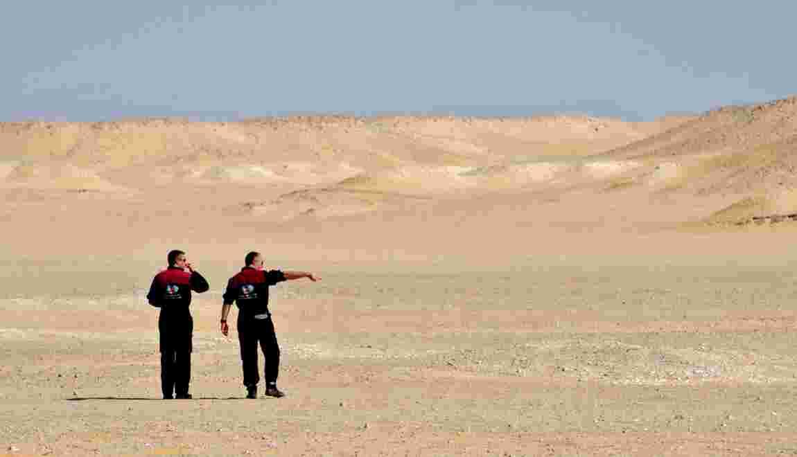 Le désert d'Oman, porte d'entrée de la planète Mars