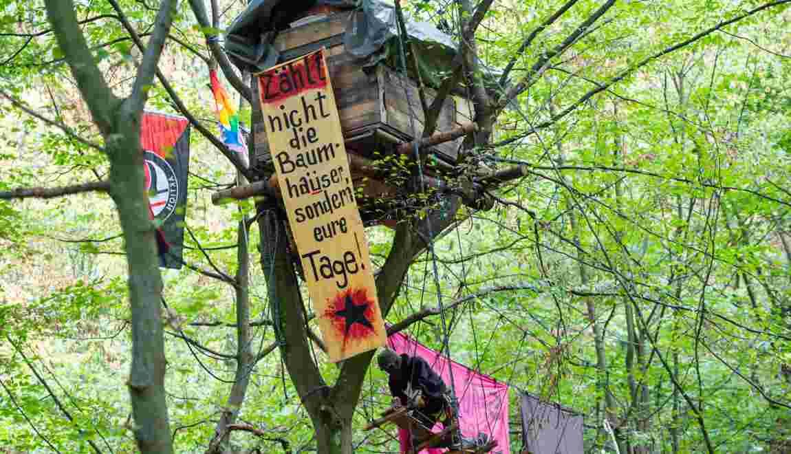 Allemagne: expulsion sous haute tension de militants anti-charbon
