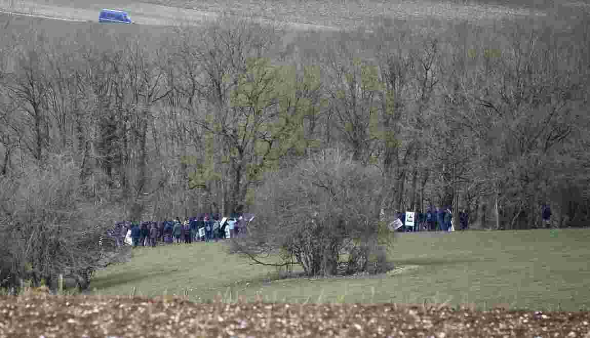Déchets nucléaires: des opposants évacués d'un bois lié au projet d'enfouissement dans la Meuse