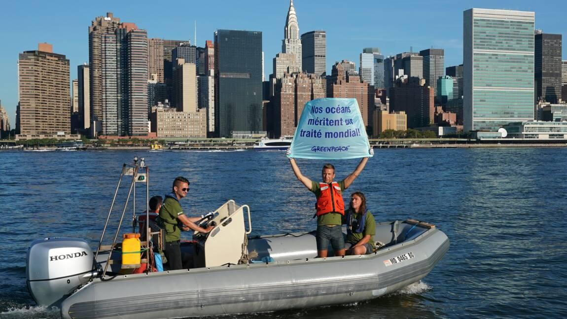 Coup d'envoi à l'ONU de négociations sur un traité protégeant la haute mer