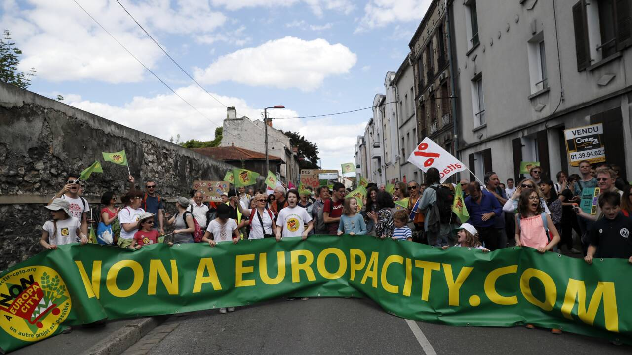 La justice s'oppose à l'aménagement de terres pour implanter le complexe Europacity
