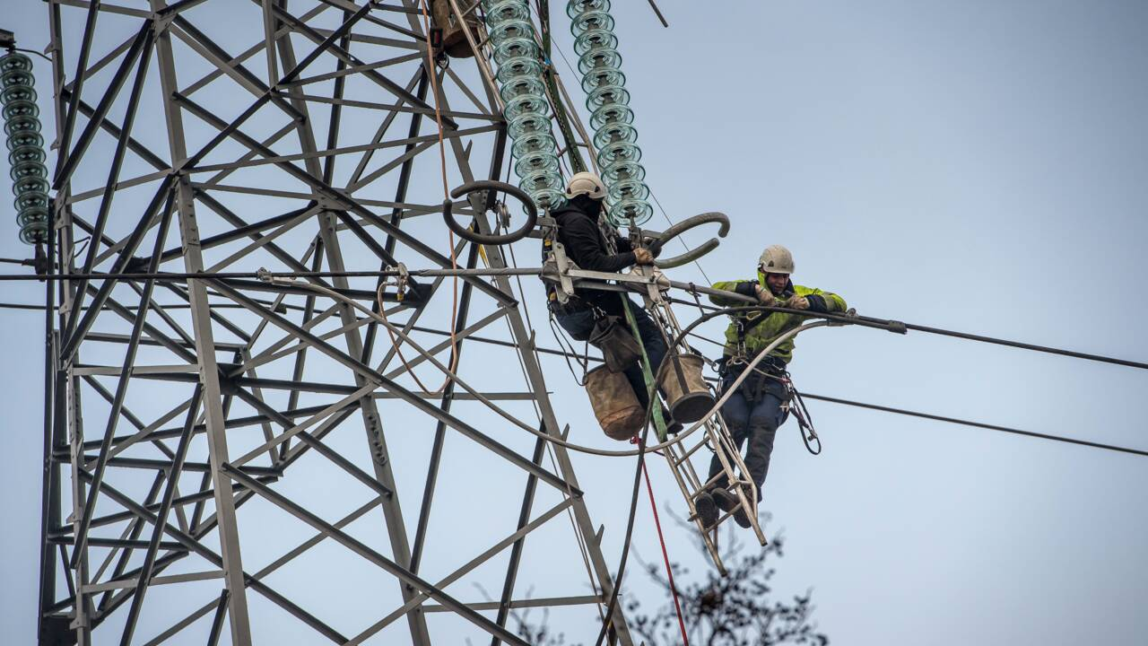 Electricité: la France a consommé plus mais produit moins