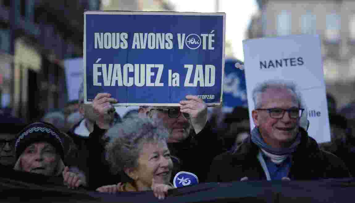 """Collomb: """"On sera obligé à un moment d'utiliser la force"""" à Notre-Dame-des Landes"""