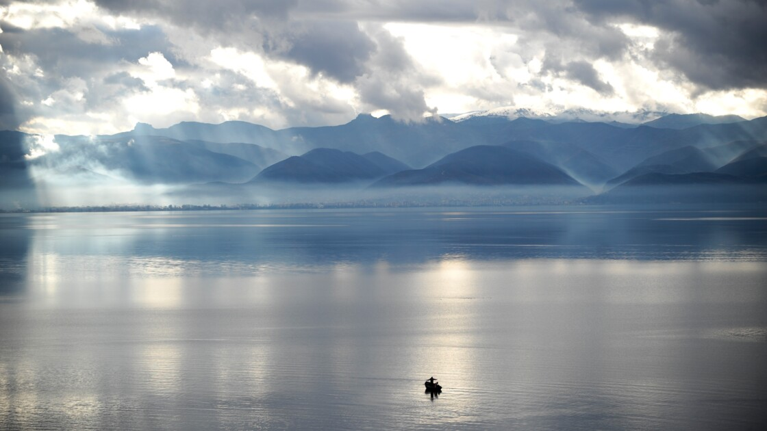Macédoine : menaces sur Ohrid, le plus vieux lac d'Europe