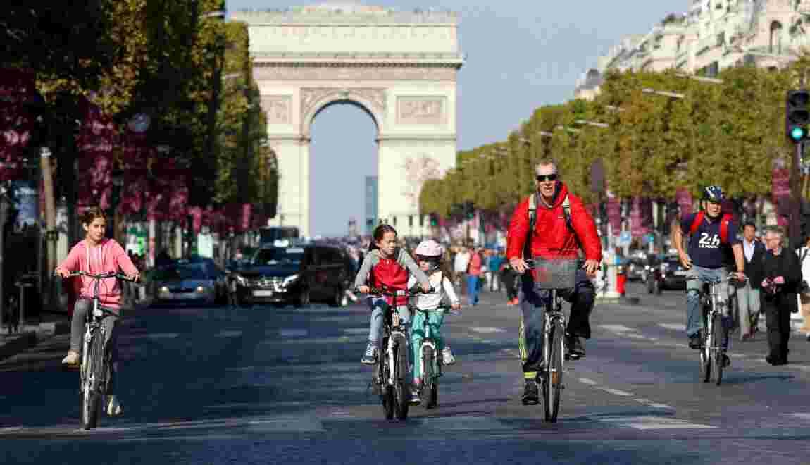 Le vélo, petite reine en devenir à Paris
