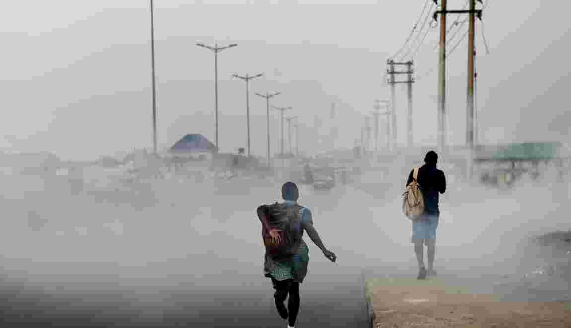 Nigeria: une étrange suie noire envahit Port-Harcourt