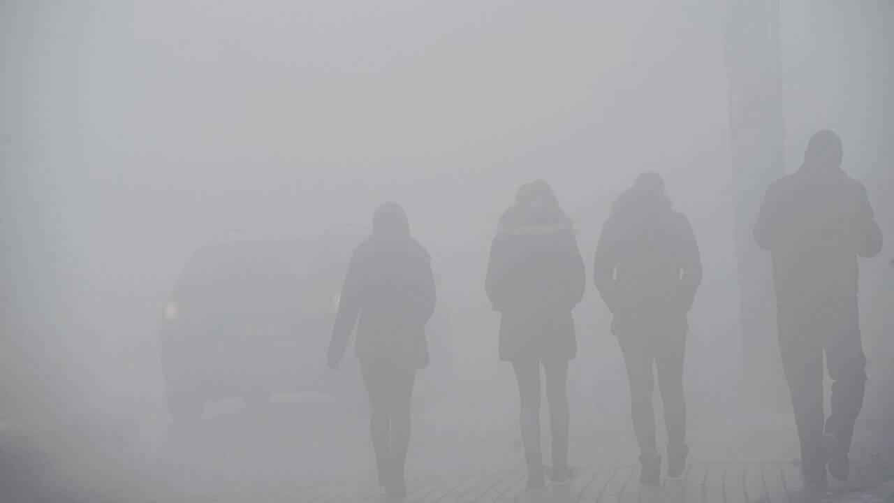 """Kosovo: à Pristina, """"respirer nuit gravement à la santé"""""""
