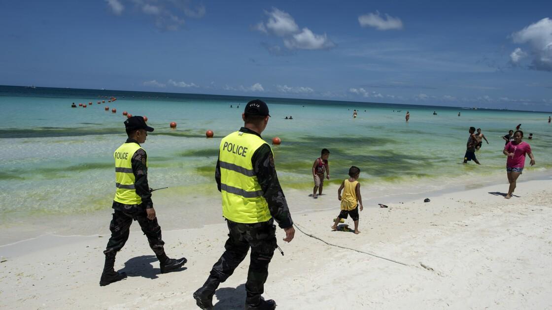 Les Philippines ferment l'île touristique de Boracay