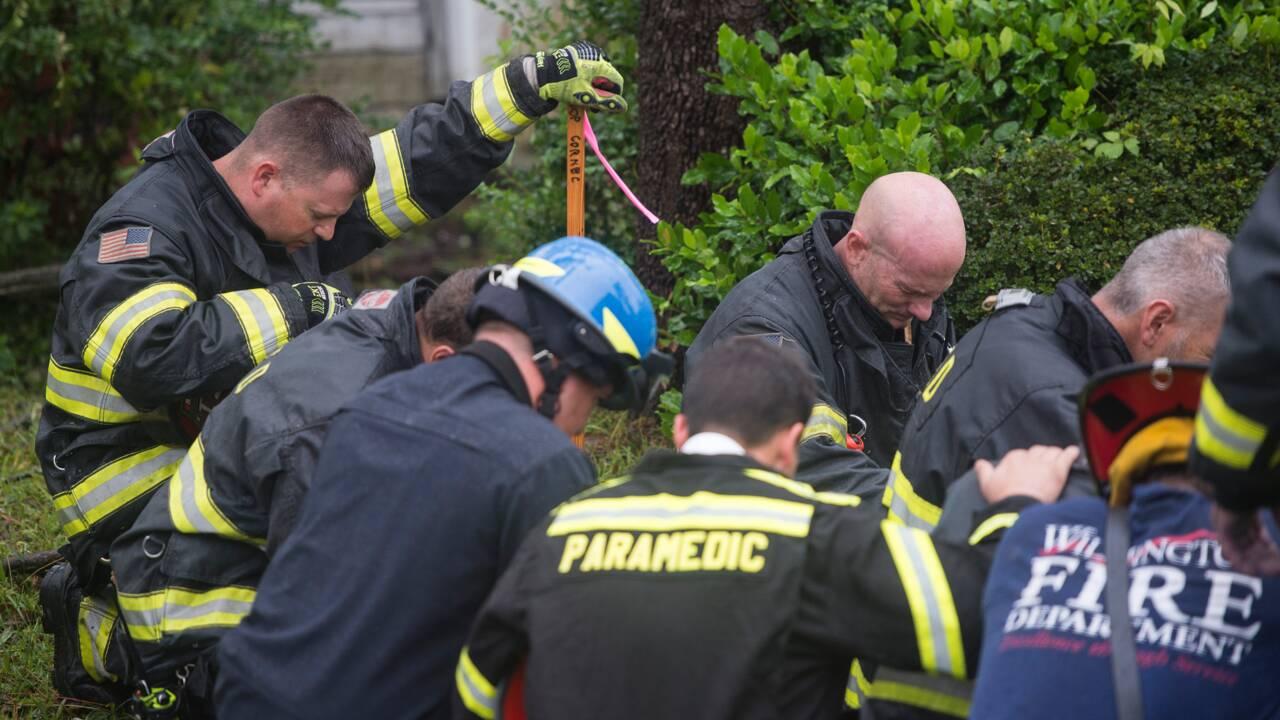Ouragan Florence: une femme et son bébé tués par un arbre