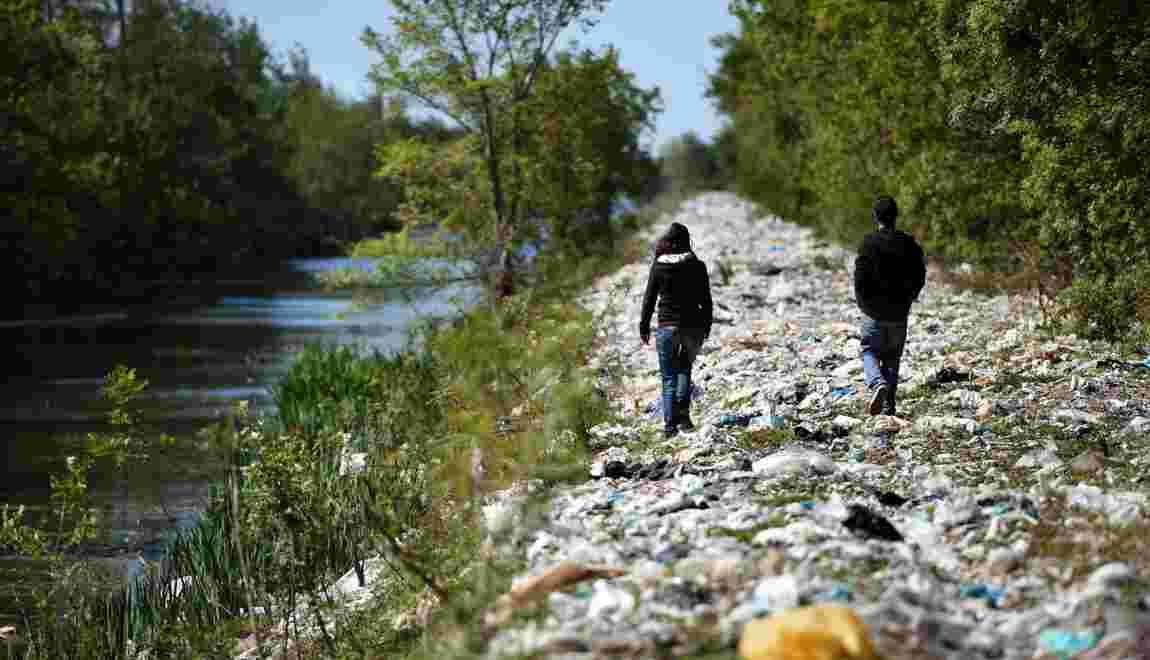 Plus de 60.000 tonnes de déchets abandonnés en 2016