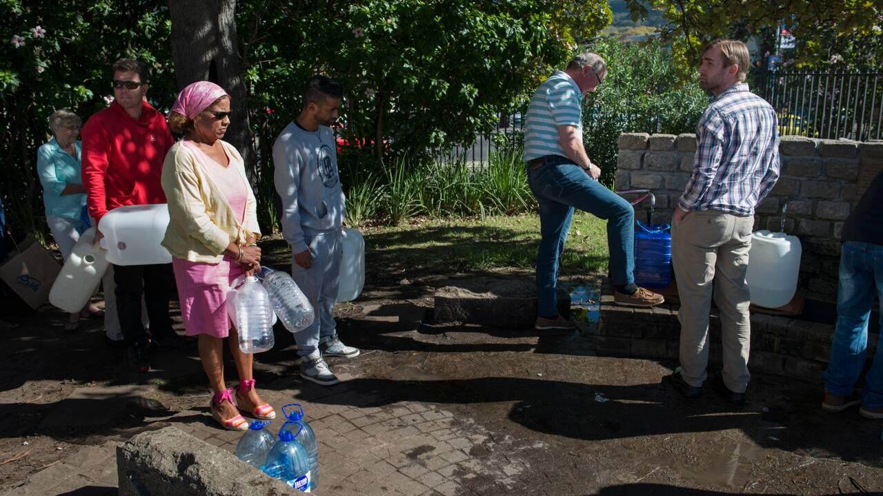Le Cap menacé d'être privé d'eau en avril pour cause de sécheresse