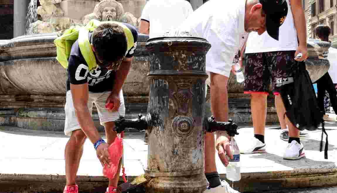 Sécheresse, transports, déchets... Rome fait eau de toute part
