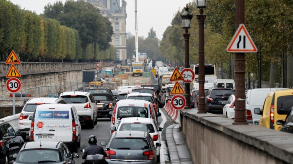 Les vignettes anti-pollution obligatoires à Paris au 16 janvier