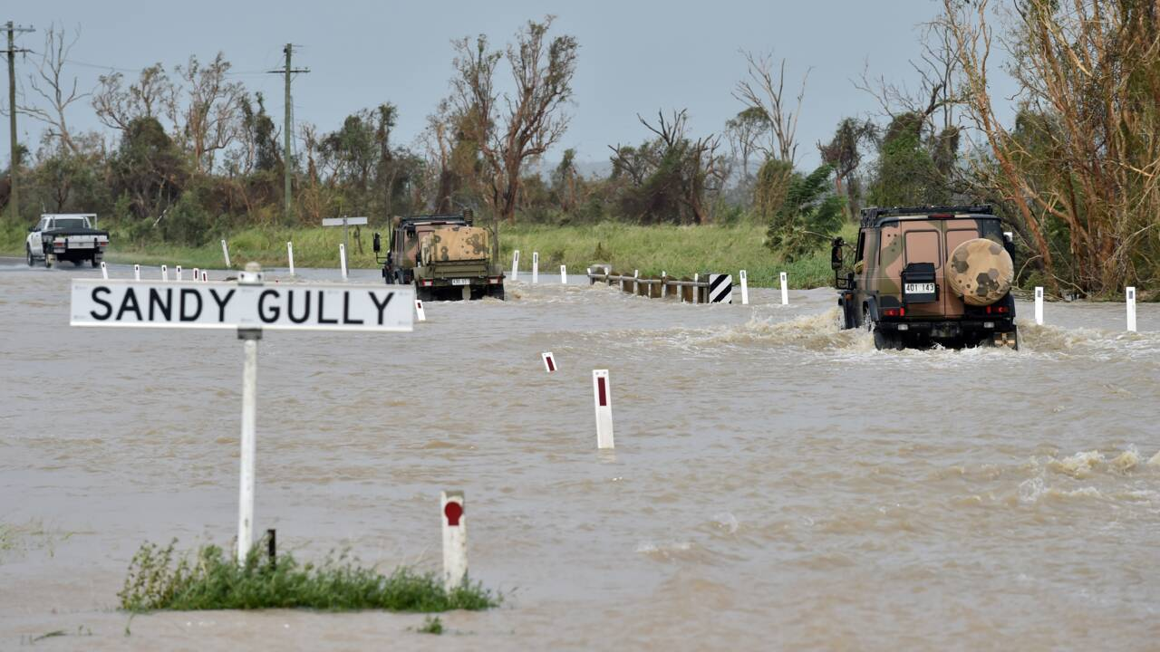 Cyclone en Australie: inquiétude pour la Grande barrière de corail