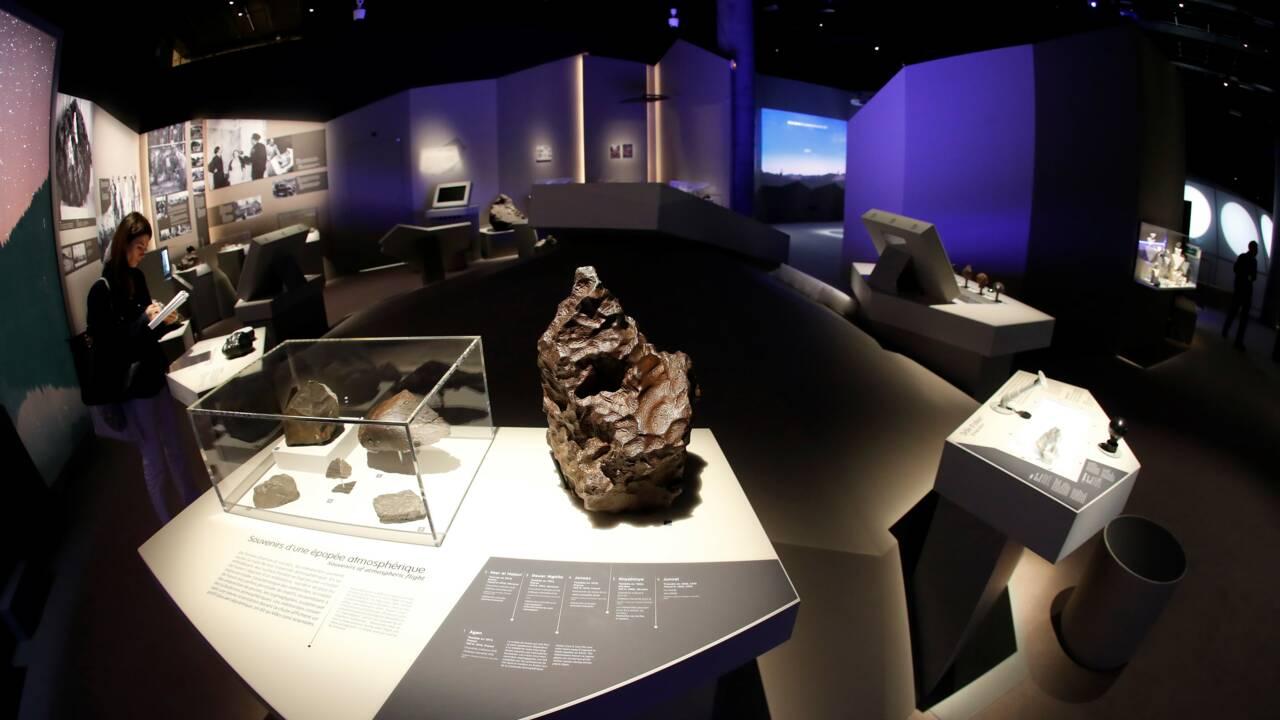 Des extraterrestres à Paris: les météorites s'exposent