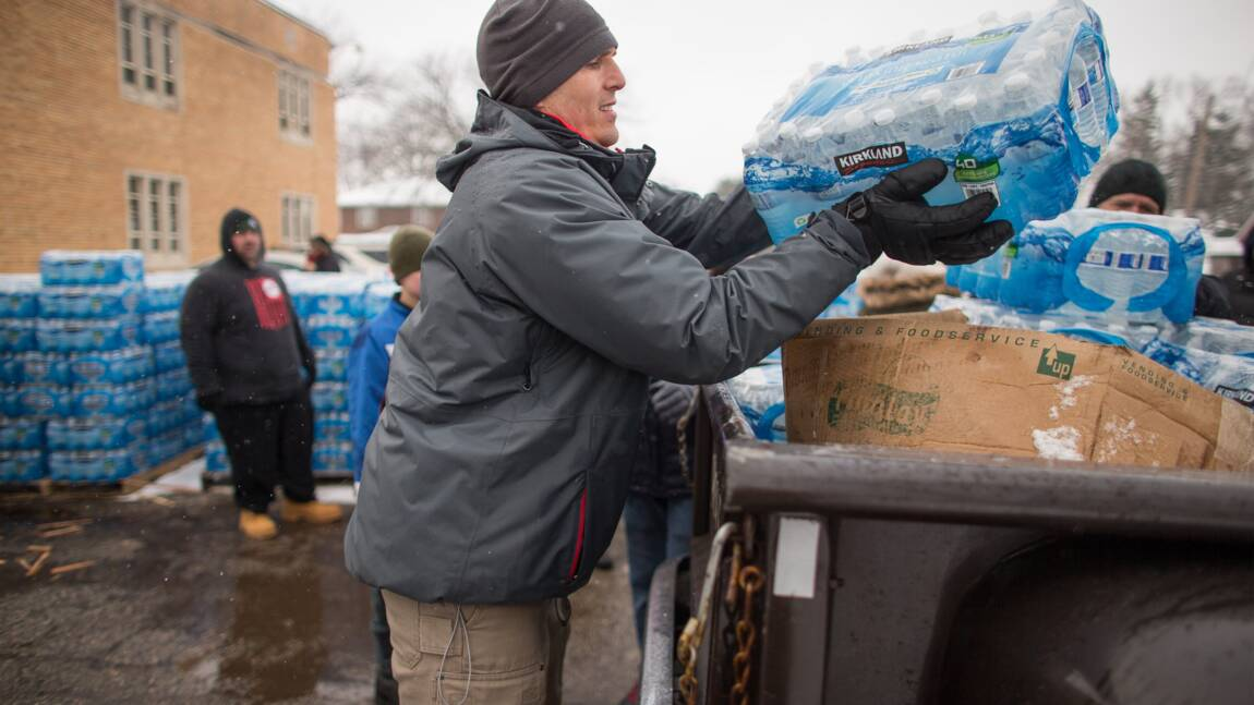 Contaminés au plomb, les habitants de Flint pourront exiger justice