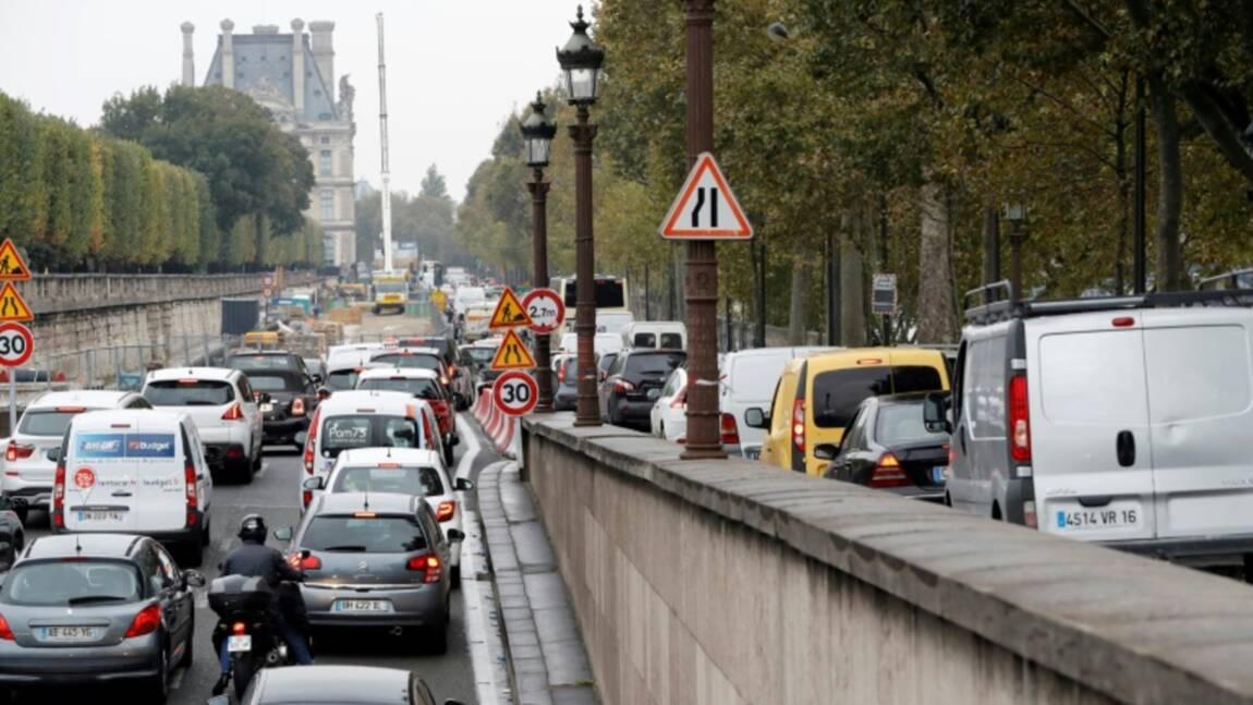 Berges rive droite: hausse du trafic, mais pas plus que prévu