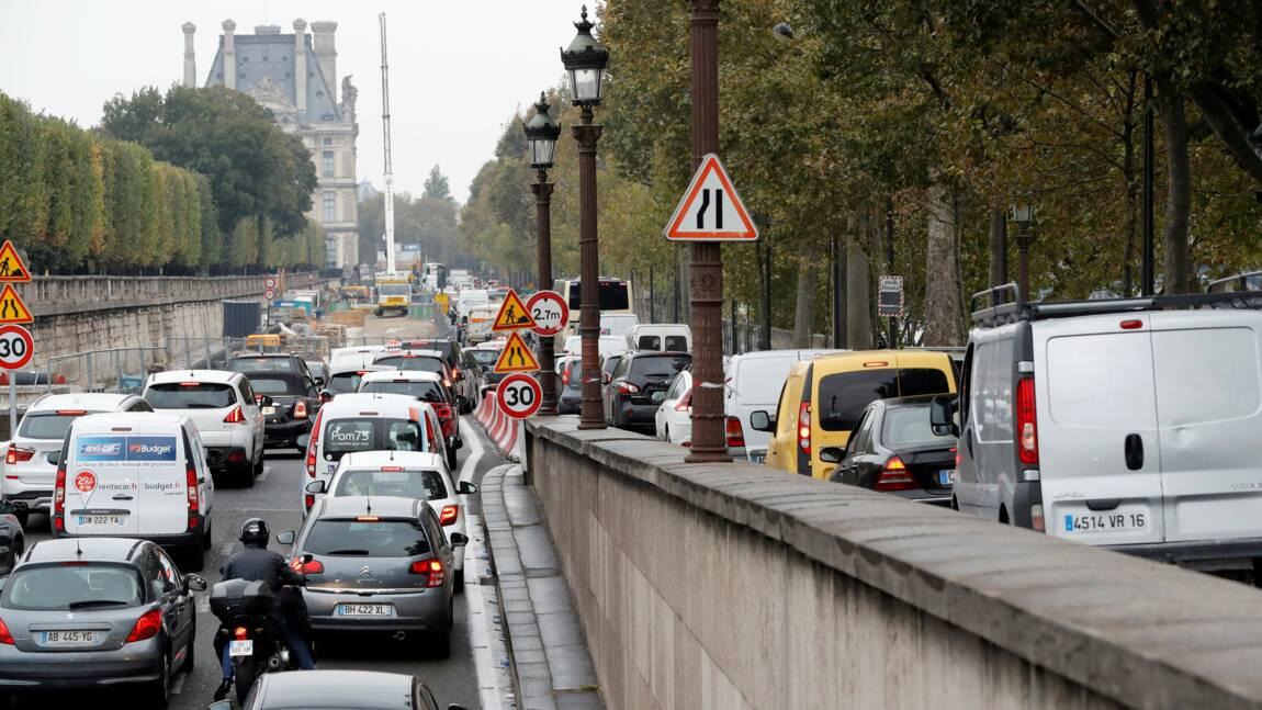 Berges rive droite à Paris: la Région IDF (LR) propose d'autres scénarios