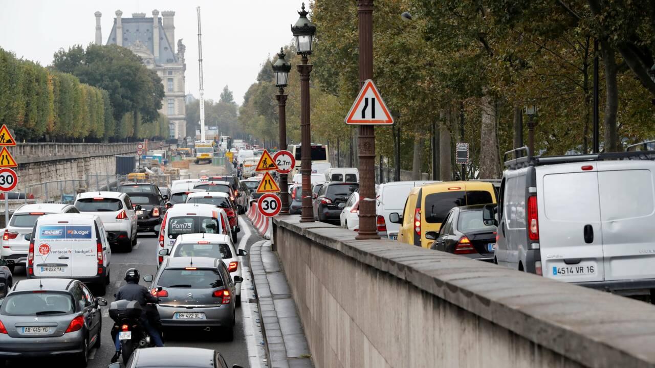 Piétonnisation des berges à Paris: Pécresse demande une voie pour véhicules propres