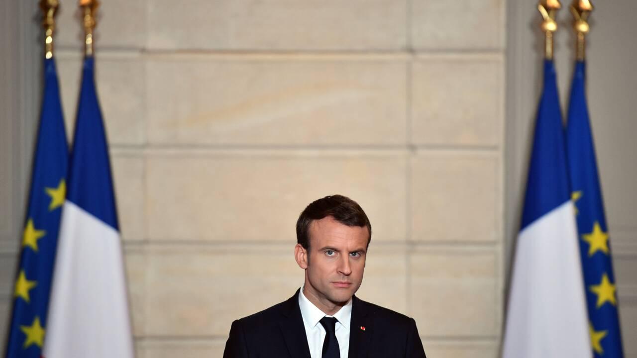 Climat: Macron mobilise la société civile, mardi à l'Elysée