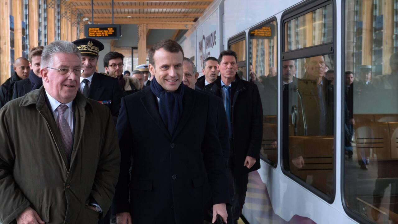 Macron sur les traces de Mitterrand en Auvergne