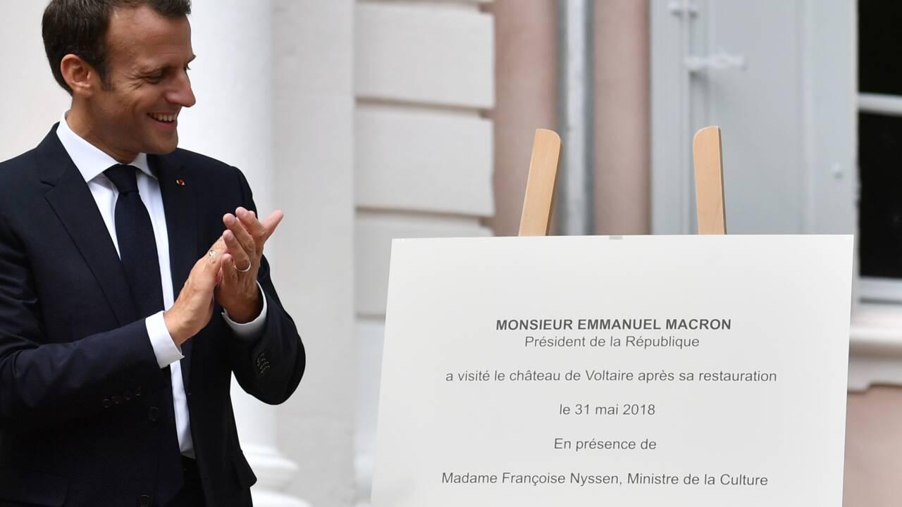 """Glyphosate: """"Hulot a ma confiance"""", affirme Macron"""