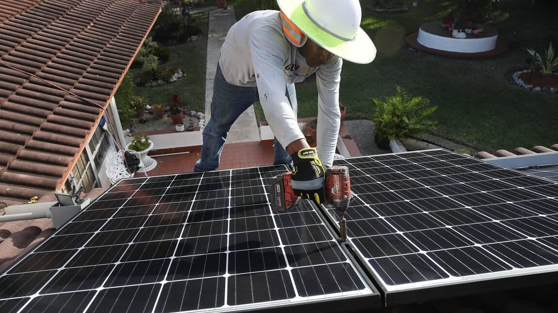 USA: éolien et solaire peuvent fournir 80% de la demande en électricité (étude)