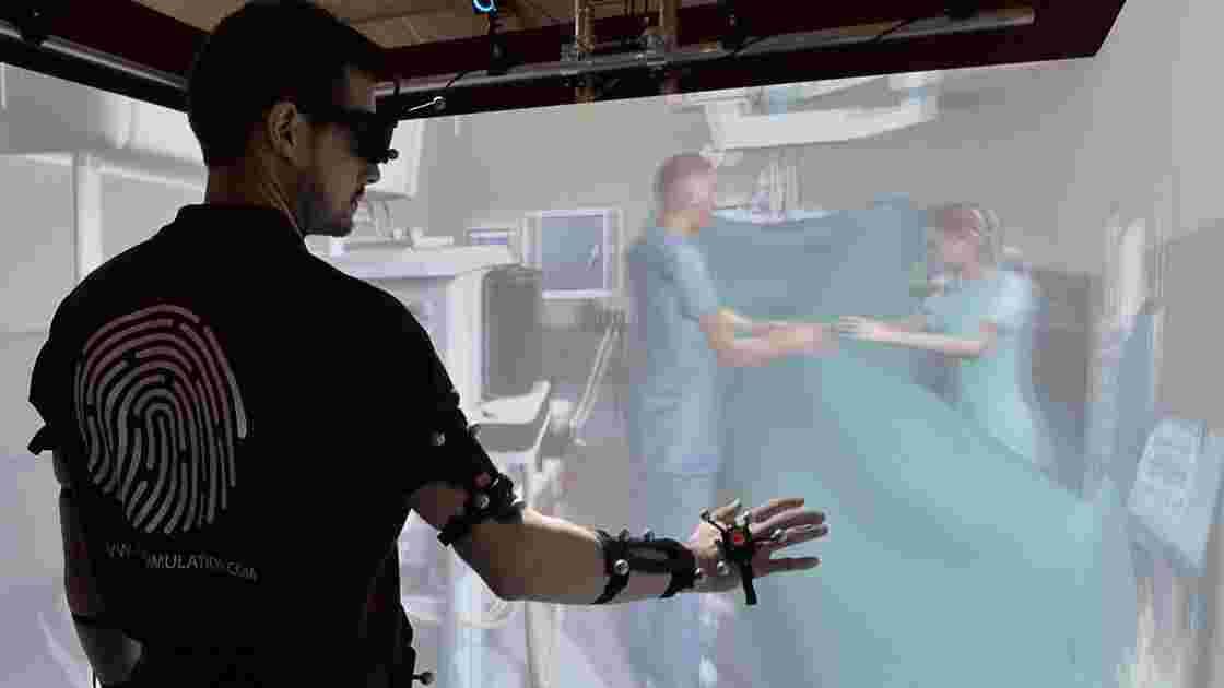 La réalité augmentée aide à soulager les douleurs du membre fantôme