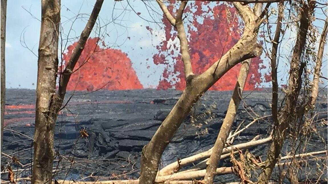 Volcan Kilauea: la lave approche une usine géothermique à Hawaï