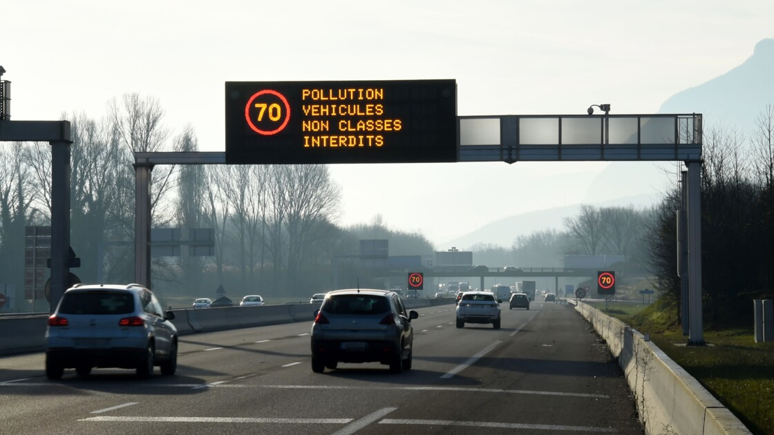 Pollution: réduction obligatoire de vitesse dans le Nord et le Pas-de-Calais