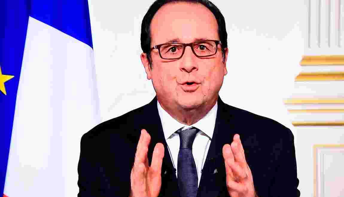 """Hollande à Trump: """"La France ne laissera personne, ni aucun Etat, remettre en cause"""" la COP21"""