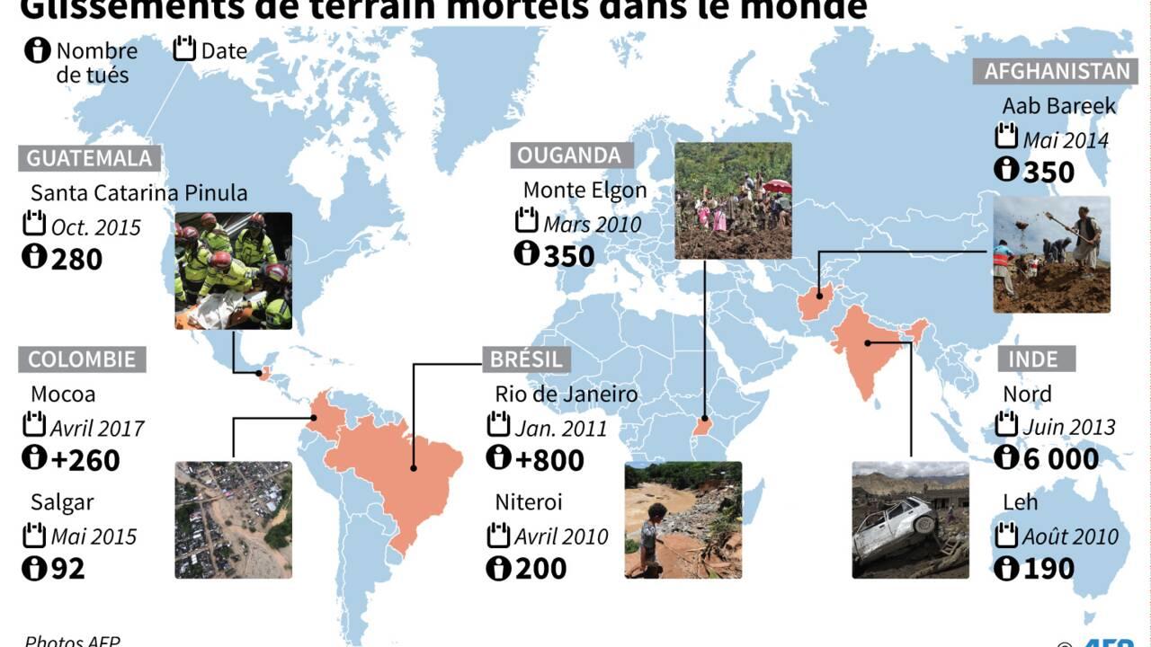 Amérique du Sud: les raisons des coulées de boue meurtrières