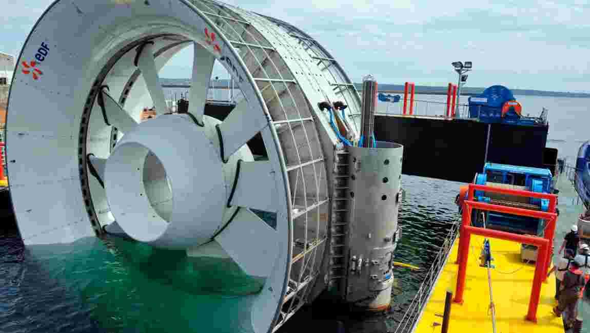 Naval Energies enterre les ambitions françaises dans l'hydrolien