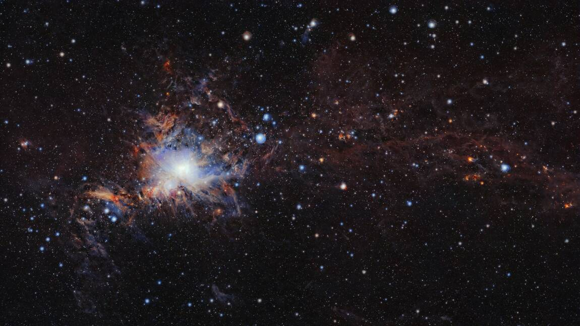 Dans les secrets de la nébuleuse d'Orion
