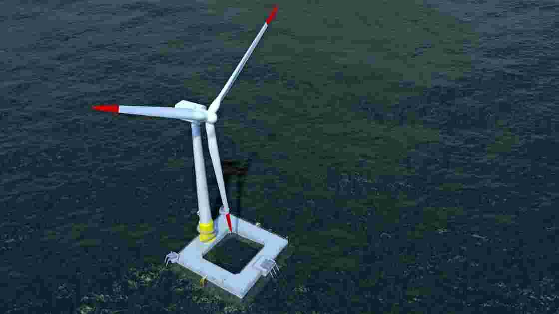 La première éolienne en mer française mise en service avant la fin de l'année