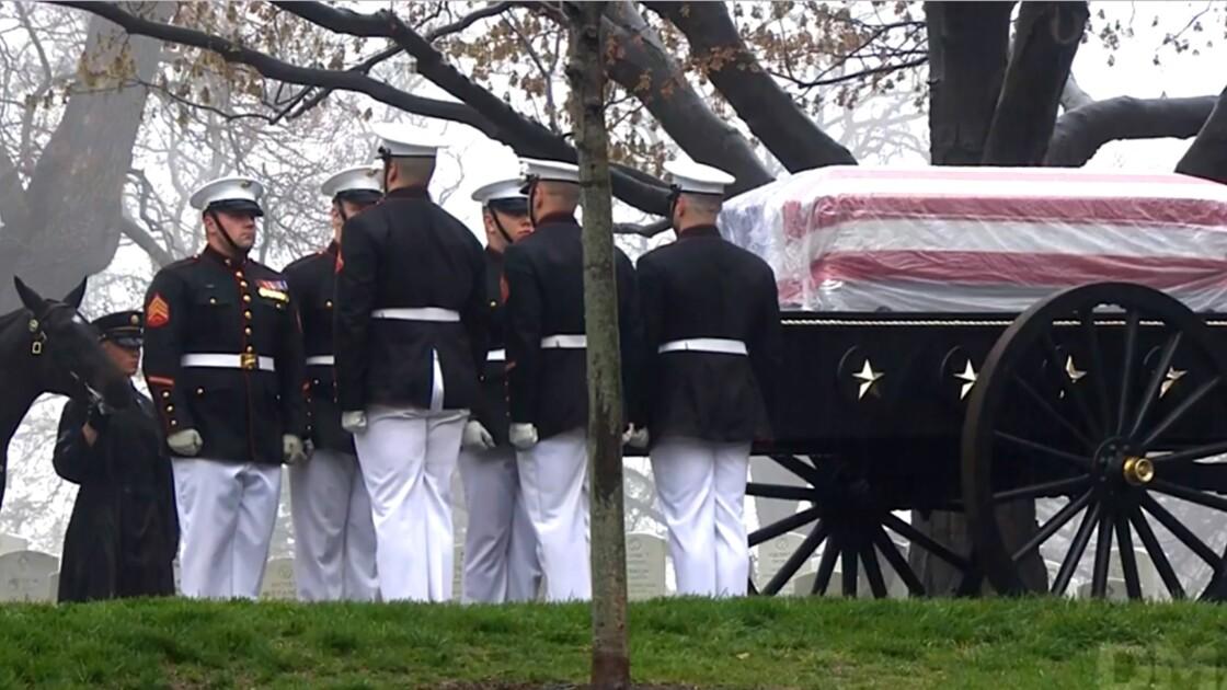Etats-Unis: l'astronaute de légende John Glenn inhumé avec les honneurs