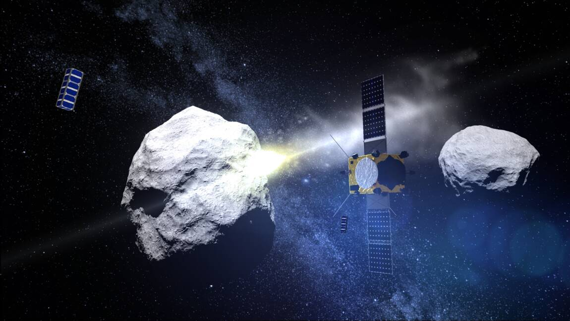 Mission spatiale européenne recherche financements