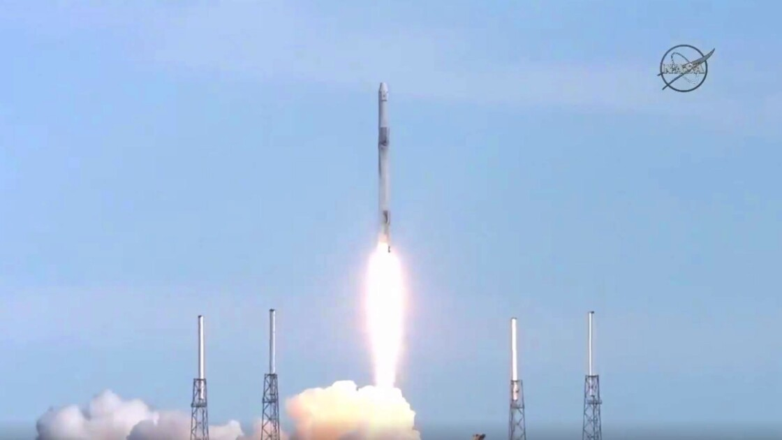 La capsule Dragon de SpaceX est arrivée à la Station spatiale internationale