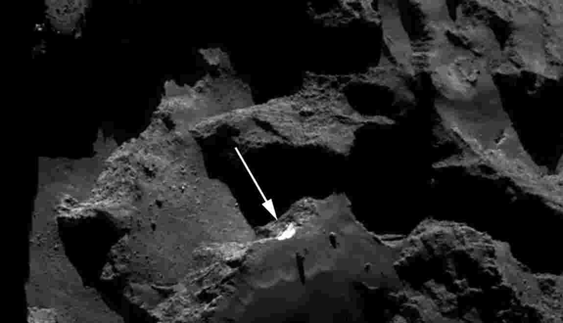 Rosetta a percé un peu plus le mystère de la comète Tchouri