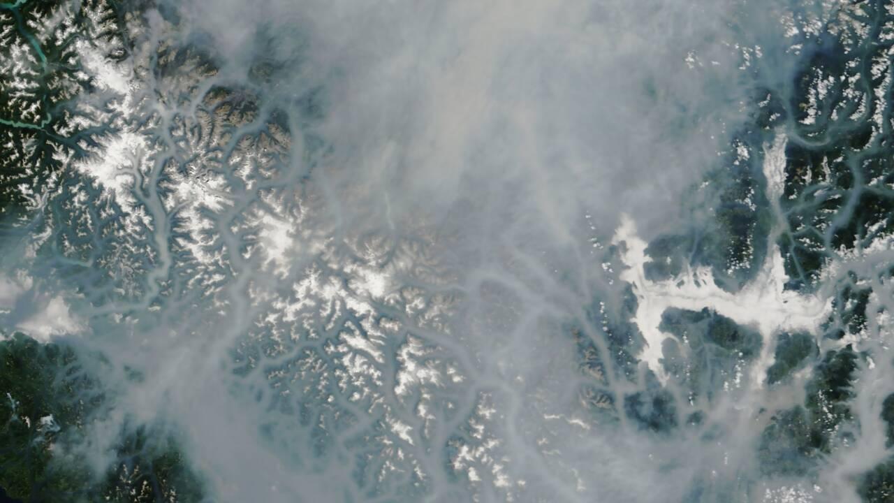 Canada: état d'urgence contre les feux de forêt en Colombie-Britannique