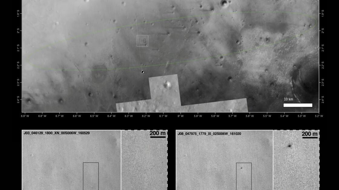 Mars: l'Europe tire les leçons du crash de son module Schiaparelli