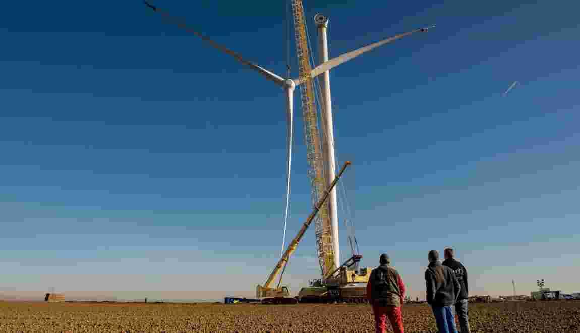 L'énergie éolienne dépassse le charbon en Europe