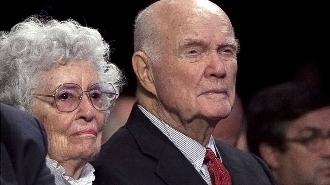 Espace: John Glenn, le légendaire astronaute américain est mort